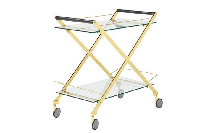 Ettienne Drinks Trolley - Gold