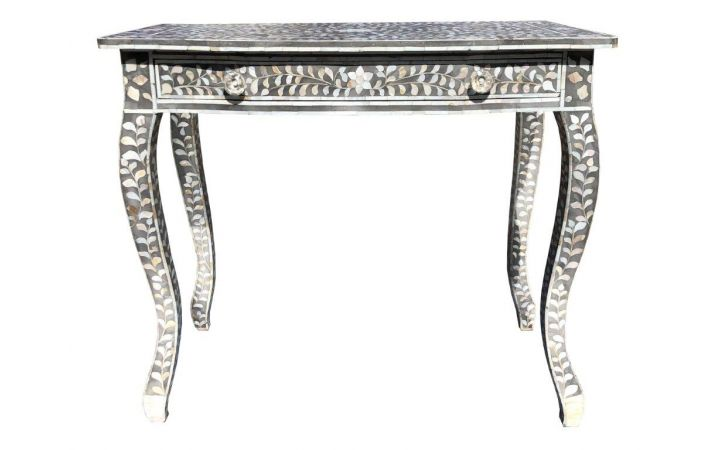 Raffles Mother of Pearl Inlaid Table