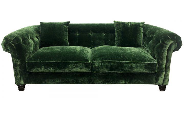 Hampton 3 Seat Sofa - Designers Guild Pavia Fir
