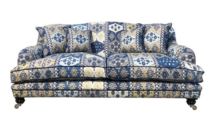 Lewes 2 Seat Grand Sofa - Warwick Anthropology Denim