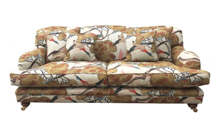 Lewes 2 Seat Grand Sofa - Mulberry Home 'Flying Ducks'