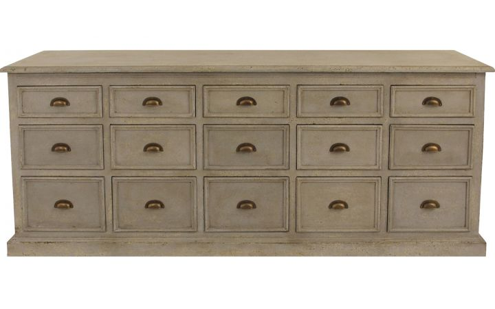 Toulon 15 Drawer Chest