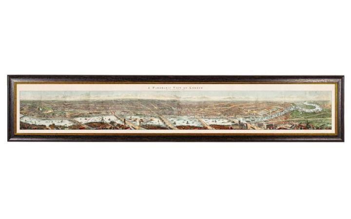 C.1845 Panoramic View of London