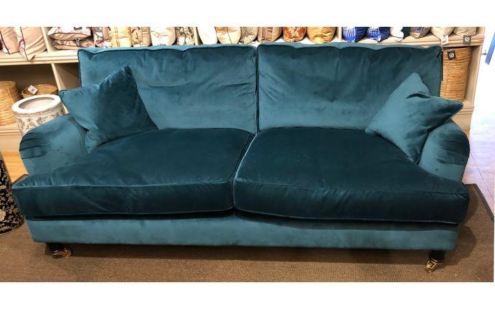 Connaught Large Sofa - Lumino Teal